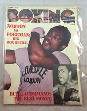July 1974 Tommy Kay's Boxing Guide  Norton Vs Foreman  Magazine Vintage
