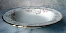 RIMMED SOUP BOWL - FLORENCE by Pope Gosser China, Scalloped Edge