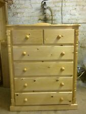 PINE FURNITURE ASHBOURNE SPECIAL LIMITED OFFER 4+2 DRAWER CHEST NO FLAT PACK
