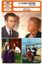FICHE CINEMA : LE FLEUVE SAUVAGE - Clift,Remick,Kazan 1960 Wild River