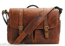 ONA Brixton Messenger Bag - Antique Cognac Leather