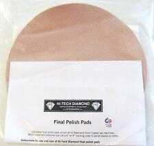 "rle 8"" FINAL POLISH PAD HI-TECH, NEW FOR POLISHING ROCKS"
