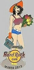 Hard Rock Cafe ONLINE 2012 Calendar Girl Series PIN #3 of 12 MARCH - HRC #65871