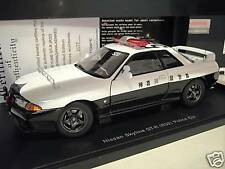 NISSAN SKYLINE GT- R R32 POLICE CAR CANAGA 1/18 AUTOart 77364