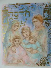 Edna Hibel -Hadassah The Generations - RARE-Hand Signed & Numbered LTD ED