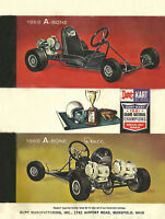 Vintage Beautiful 1962 Rupp Dart Kart A-Bone Go-Kart Ad