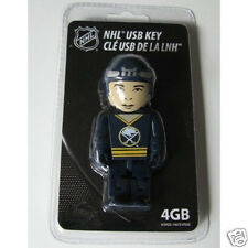 BUFFALO SABRES 4GB USB 2.0 Flash Drive Memory Stick NHL (Clé) Hockey Player
