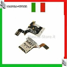 FLAT FLEX BLACKBERRY 9700 9780 BOLD Lettore Memory SCHEDA Porta Sim Card reader