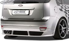 RDX approccio posteriore FORD FOCUS 2 (-08) approccio posteriore grembiule diffusore posteriore ABS allo stato puro