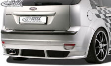 RDX heckansatz Ford Focus 2 (-08) popa enfoque delantal atrás difusor pur ABS