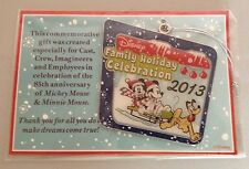 Walt Disney Family Holiday Celebration Ornament 2013 New Cast Member Ornament