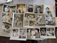 23 1948 + NFL & College Football Press Photos Alonzo Stagg JFK Sam Huff + Photos