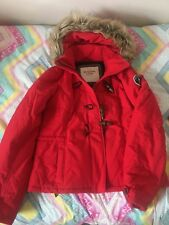 Doudoune fine Abercrombie & Fitch rouge Taille L