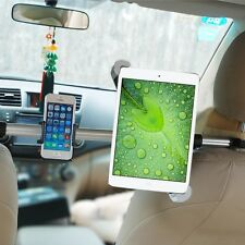"2 in1 Car Seat Headrest Case Holder for 7-8.5""Tablet ipad air 4&Universal Mobile"