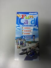 Playmobil Funcard 4 2006 Sticker Flugzeug NEU