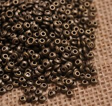 100PCS Tibetan Silver/Gold/Bronze  Spacer Beads Jewelry Findings 4MM SH3080