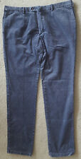 """RICHARD - CORDUROY TROUSERS W40""""/EU58 - BLUE - MADE IN ITALY"""