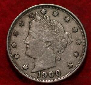 1900 Philadelphia Mint Liberty Nickel