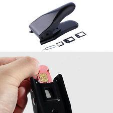 2 in 1 Double Dual Sim Card Cutter Micro & Nano Cutting for iPhone5 4S 4 FE