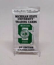 Collegiate Collection Michigan State Trading Cards 1st Edition Sealed Pack