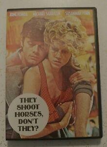 DVD They Shoot Horses, Don't They? Jane Fonda Michael Sarrazin Susannah York '69