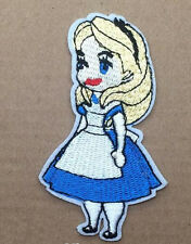 Disney ALICE in WONDERLAND Alice Embroidered Iron On/Sew On Patch