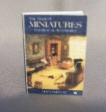 Dollhouse Miniature 1:12 Scale Miniatures Book