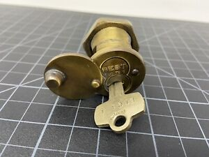 BEST Mortise Lock w/ Key E1 Hinged Cover