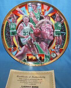 "1991 Sports Impressions Larry Bird 10 1/4"" Plate Gold Edition Joseph Catalano"