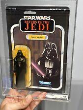 AFA 85 Kenner 1983 Star Wars ROTJ Darth Vader 65-back- B 80-85-85 Y- NM+