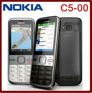 C5 Nokia C5-00 3MP Bar Style 3G WCDMA Dual 3.15MP Bluetooth Camera Long Stand-by
