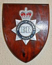 Ministry of Defence Police wall plaque shield crest badge constabulary MOD