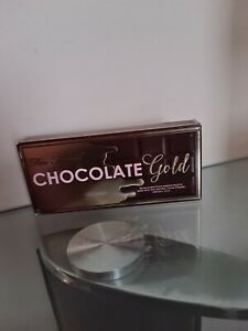 Too Faced Chocolate Gold Eye Shadow Palette. BRAND NEW.