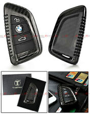 LUXURY CARBON FIBER SNAP ON HARD CASE FOR BMW X5 X6 SMART KEY FOB REMOTE