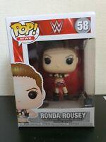 WWE Ronda Rousey Funko Pop! Vinyl Figure #58 UFC Wrestlemania