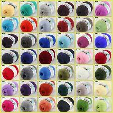 Sale New 1 ballx50gr LACE Soft Crochet Acrylic Wool Cashmere hand knitting Yarn