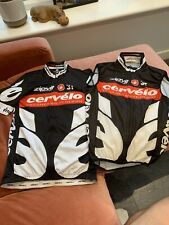 CERVELO TEST TEAM PRO TEAM CASTELLI JERSEY AND GILET LARGE...VERY RARE COMBO