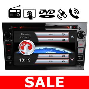"For Vauxhall/Opel Astra Corsa Vectra Stereo DVD GPS Sat Nav radio 7"" DAB+ swc bt"