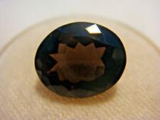 Smoky Quartz Oval cut Gemstone 11 mm x 9 mm 3.5 carat Natural Gem