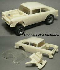 Resin HO scale 55 Chevy Belair 210 gasser dragster 4 gear body