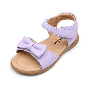 Baby Girls Cute Flat Sandals Hook loop Open toe Summer Sandals