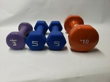 Dumbbells 10 5 3  (23lbs Total) Fast Shipping