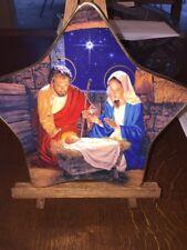 "Franklin Mint 1998 "" Star Of Bethlehem "" Star Shaped Plate"