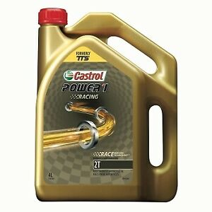Castrol Mx Oils 4L Power 1 TTS 2T Motocross Dirt Bike 2 Stroke Racing Engine