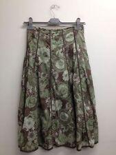 Cotton Calf Length A-line TU Skirts for Women