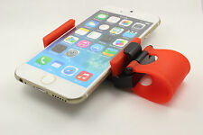 New Red Blk Car Steering Wheel Bike Clip Mount Holder Samsung phone iPhone 6 GPS