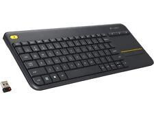 Logitech K400 PLUS Wireless Keyboard w/Multi-Touch Pad