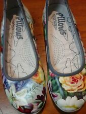 Floral Synthetic Ballet Flats for Women