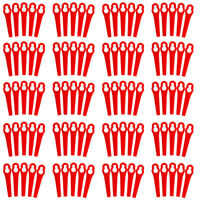 100PCS Plastic Blade Set Grass Replacement Blade For Cordless Trimmer Parts