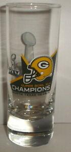 GREEN BAY PACKERS SUPER BOWL XLV 45 CHAMPS champions SHOT GLASS #2